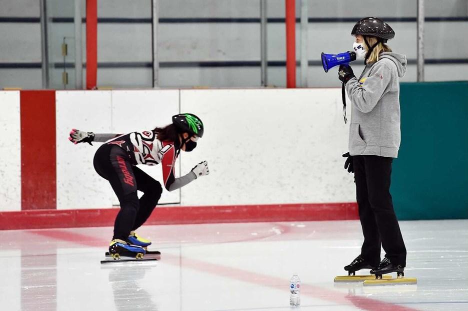 speed skating covid-19 face mask masks