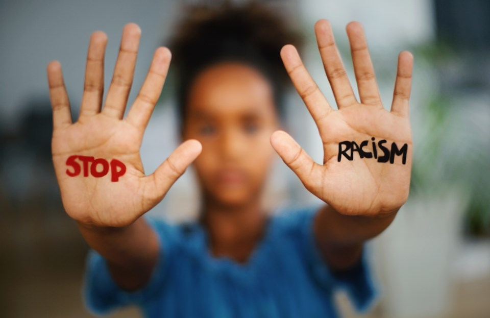anti-racism, end racism, stock photo