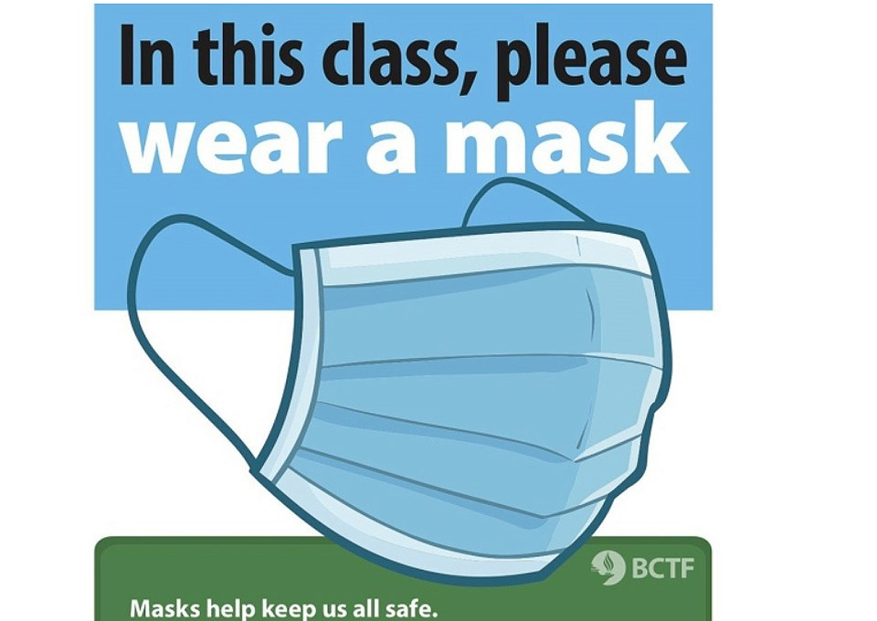 bctf mask wearing campaign