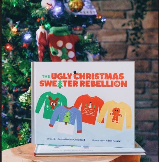 the Ugly Christmas Sweater Rebellion Kinder Books