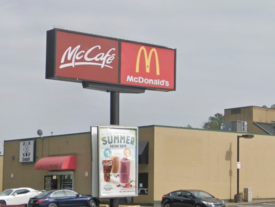 The McDonald's at 2725 Barnet Highway in Coquitlam reported a worker has tested positive for the cor