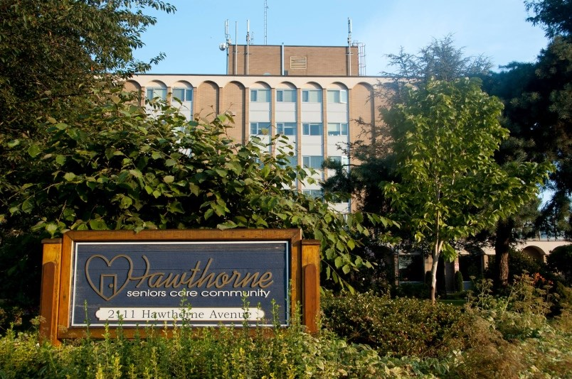 Hawthorne Seniors Care Community in Port Coquitlam is currently battling two outbreaks