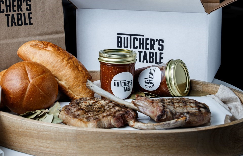 butcher's table