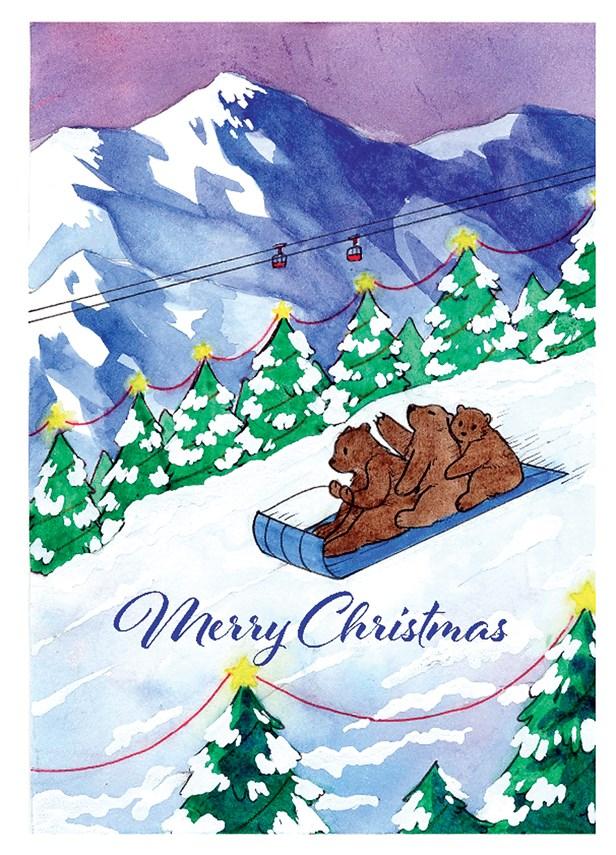 LGHF Christmas card