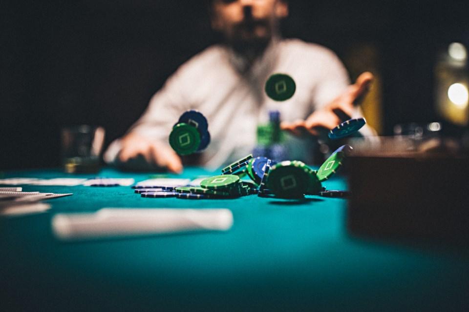 poker, poker chips
