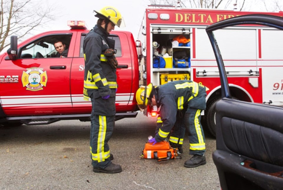 delta fire fighters