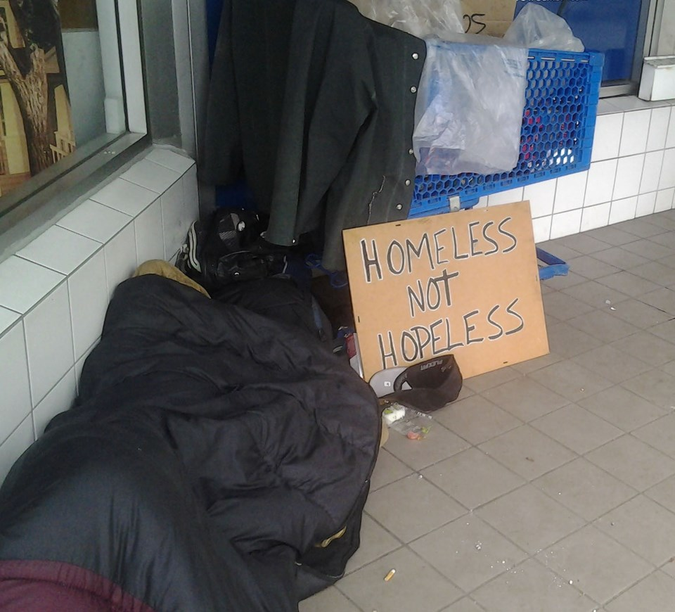 delta homeless count