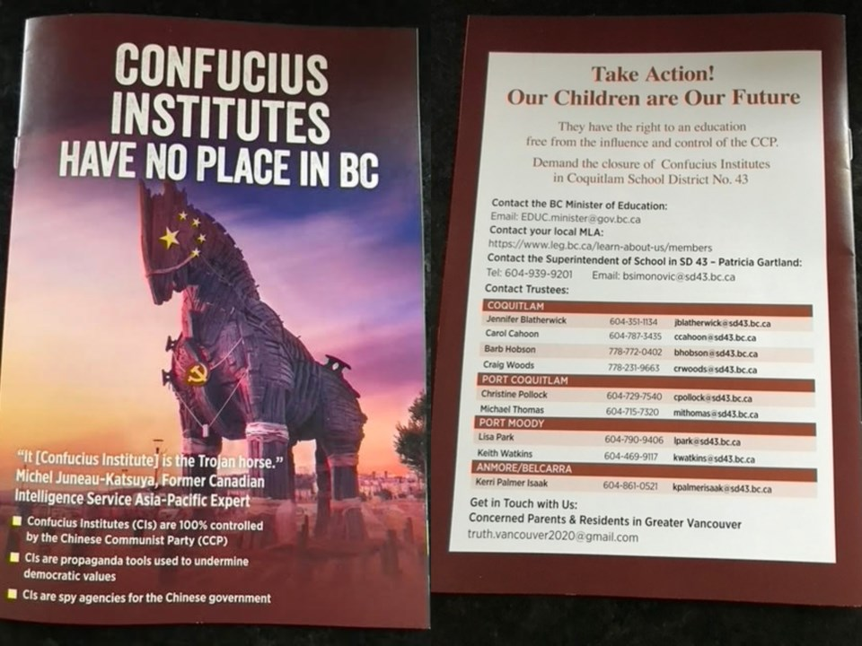 The brochure has been distributed widely across the Tri-Cities