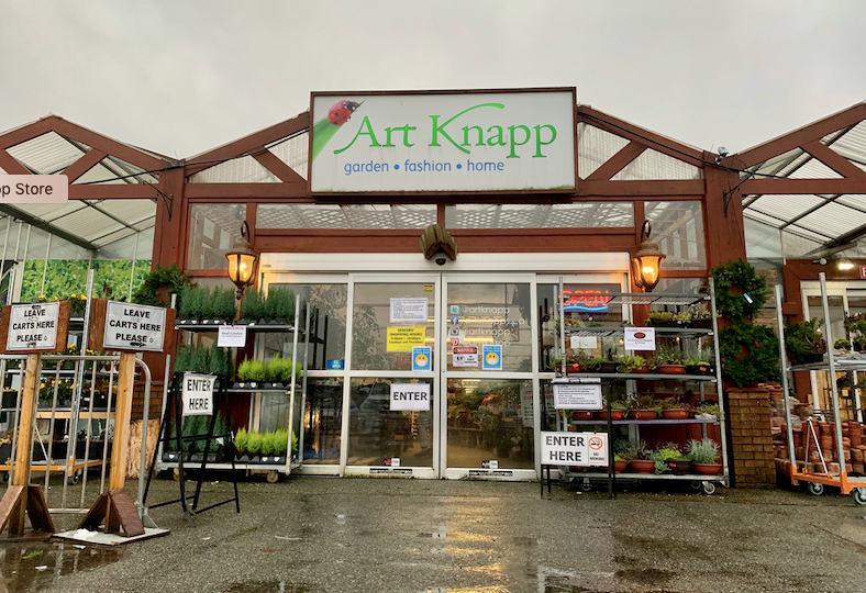 The Art Knapp store front will be demolished