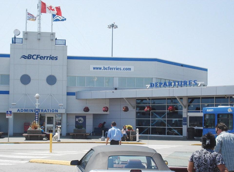 bc ferry terminal tsawwassen