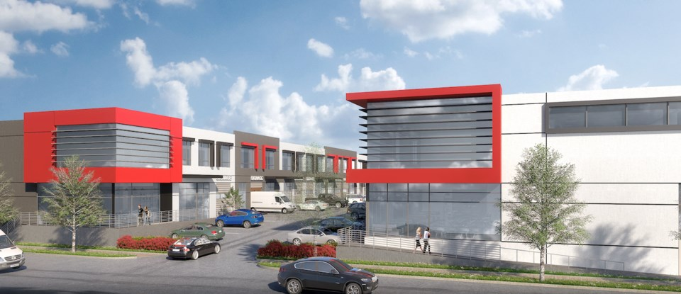 PC Urban's Ontario Street development totals 82,000 square feet.  Submitted