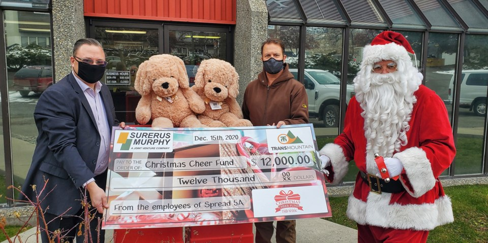 Christmas Cheer Surerus donation