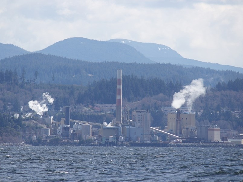 Powell River's Paper Excellence mill