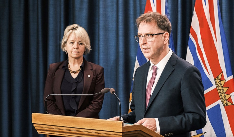 Health Minister Adrian Dix broke tradition by releasing COVID-19 news on Twitter