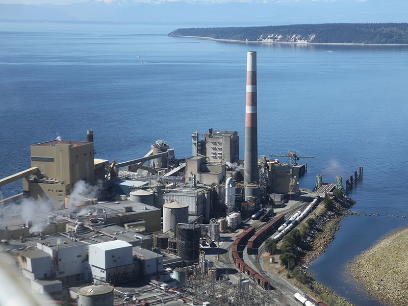 Powell River's Catalyst paper mill