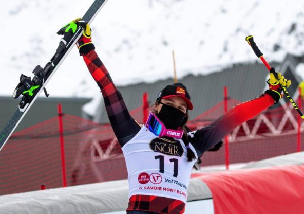 Whistler ski-cross racer Marielle Thompson.