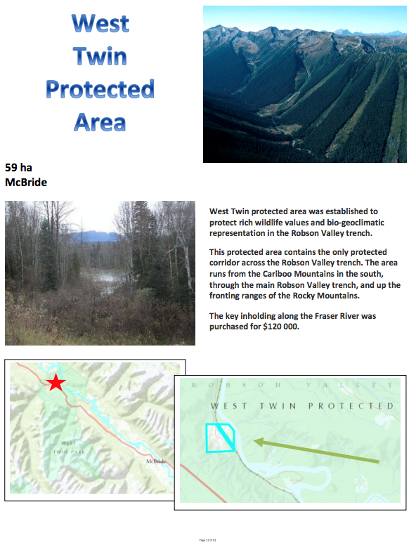West Twin Protected Area