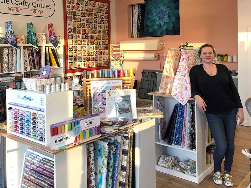 The Crafty Quilter Powell River