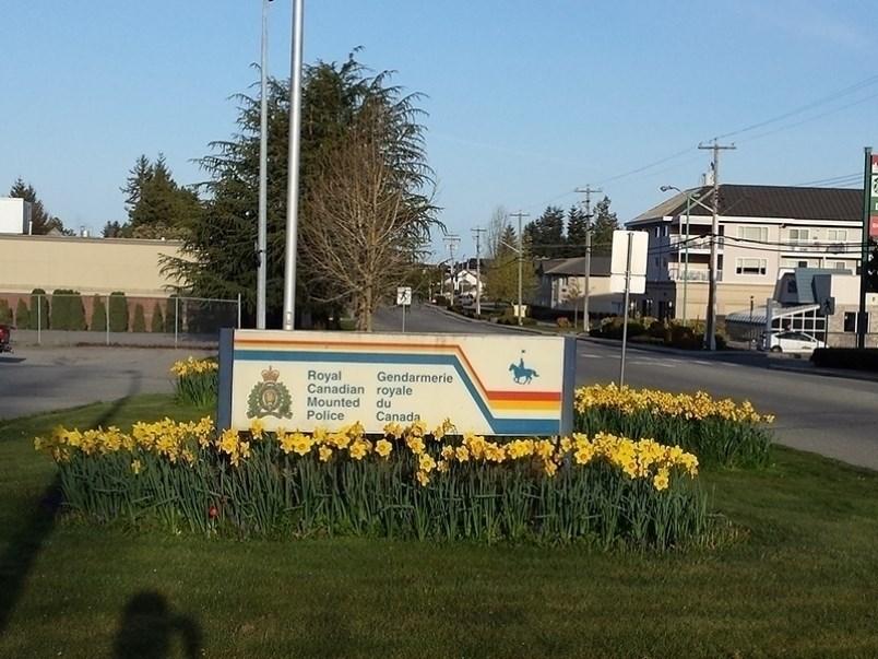 Powell River RCMP detachment.
