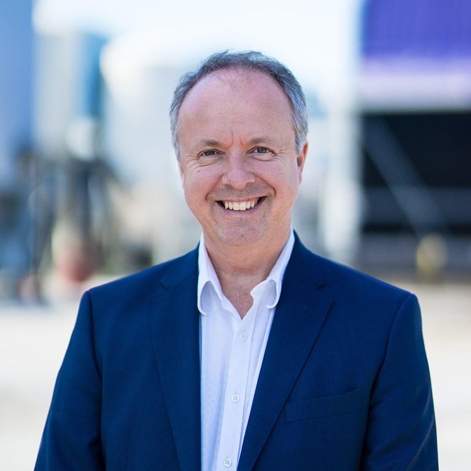 CARBON ESteve Oldham, CEO of Carbon Engineering (2)