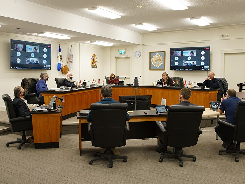 City of Powell River councillors