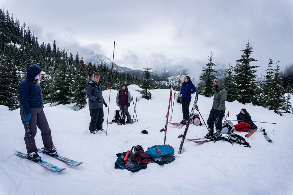 New Squamish program encourages Indigenous women to venture into the backcountry_0