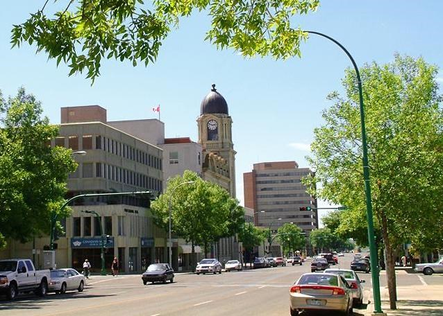 Lethbridge, Alberta: picked as top town for investors.| WI files