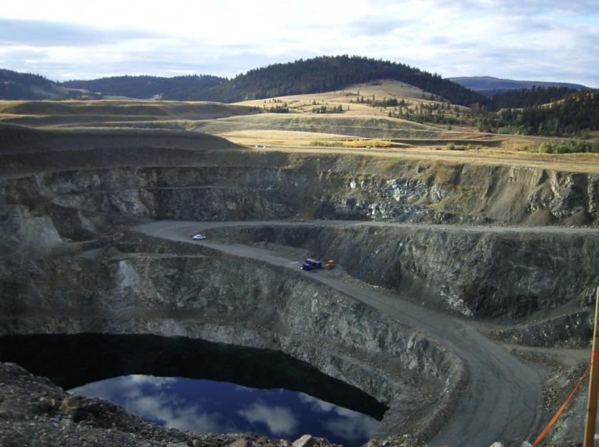 B.C.'s nixed Ajax Mine near Kamloops.   KGHM