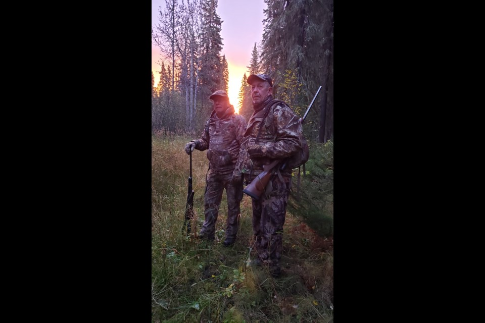 Hunting in the South Peace.