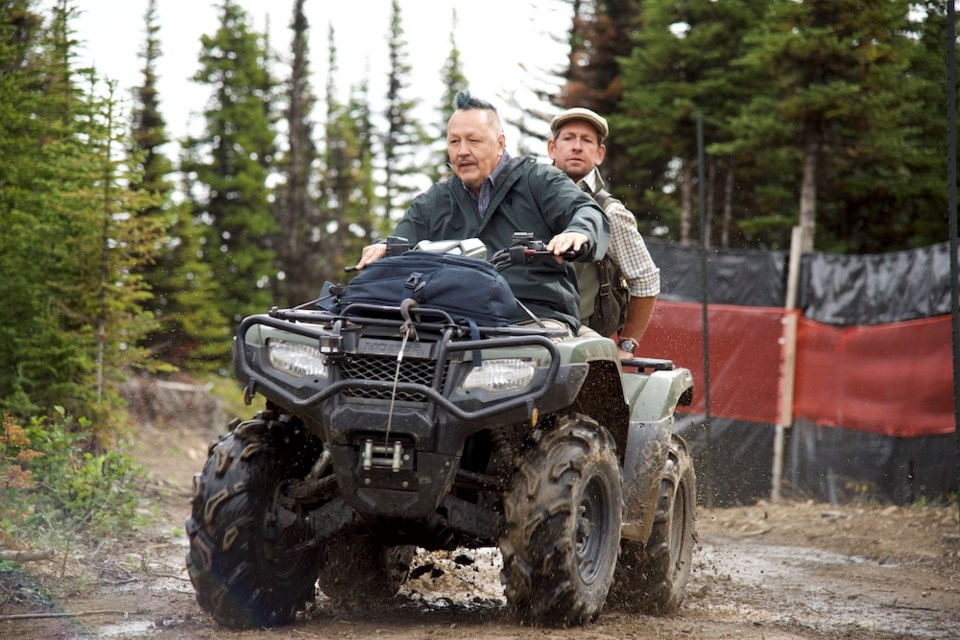 Art Napoleon takes his Moosemeat & Marmalade co-host Dan Hayes on a trip to a caribou conservation camp in the Moberly Lake area for the fifth season of the popular food and culture show.