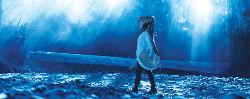 SPIRITUAL SIGHT: Grace Dove portrays Lisa, who was born with powers to see into the spiritual world and communicate with ghosts, in Monkey Beach, one of 12 films currently screening online as part of Powell River Film Festival. Contributed photo
