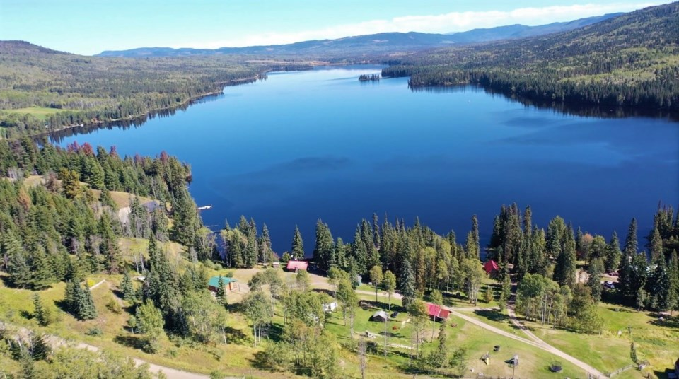Six-acre, seven-cabin Eagan Lake Resort in the south Cariboo sold for $1.1 million. | Landquest