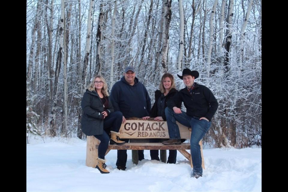 Gough Family family photo: Scott, Tawnya, Braydon and Kaily.