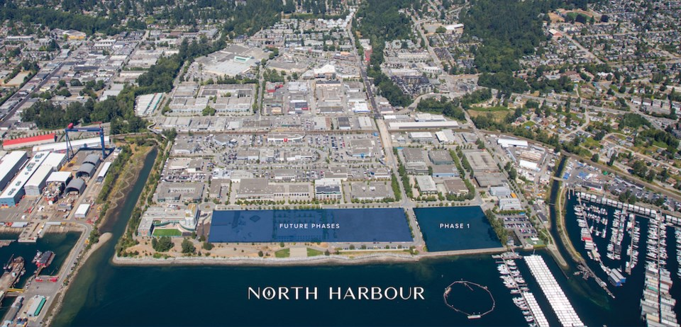 North Harbour is largest North Vancouver development in decades.   Concert Properties
