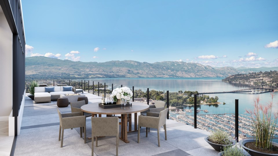 Lakeview condo most expensive in Okanagan history. | Sotheby's.
