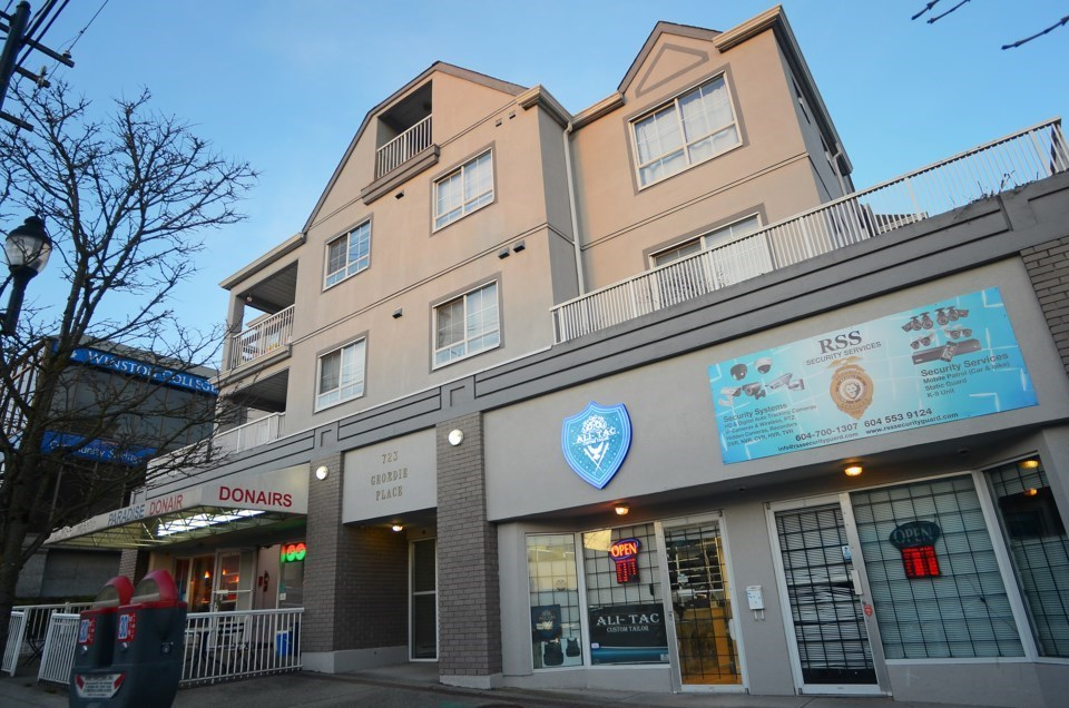 Geordie Place on 12th Street one of six strata buildings now ruled rental-only. | New Westminster Re