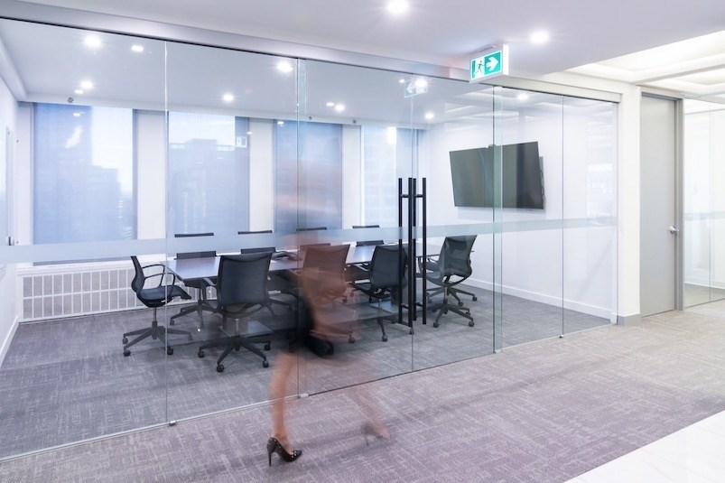More than half want to work only part time in the office.  CBRE