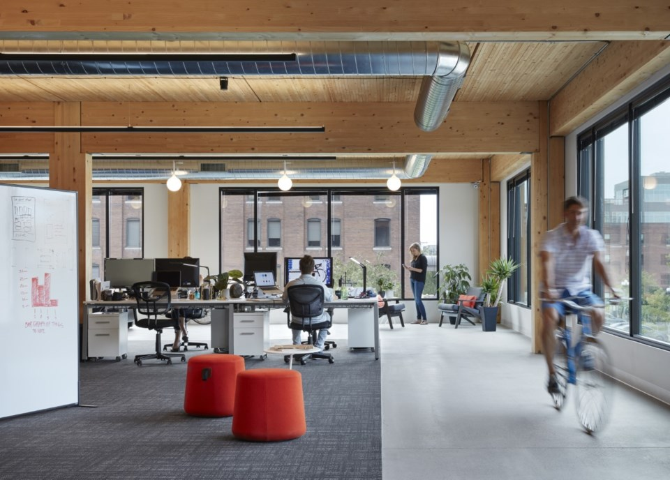 First mass-timber office building in Vancouver will be similar to this T3 building in Minneapolis Mi