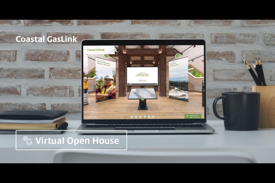 From your desktop or your phone, the Coastal GasLink Virtual Open House is just a click away.