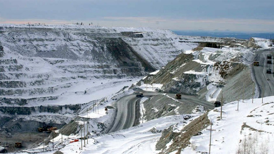 The Gibraltar mine between Williams Lake and Quesne, B.C., employs 700 workers.   Taseko