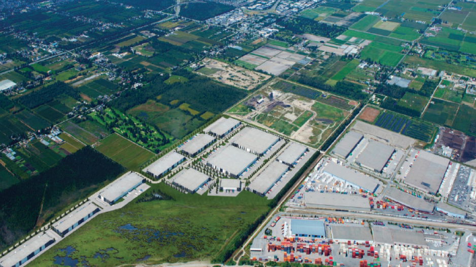The 170-acre Richmond Industrial Centre being developed on a former landfill site. | WI files