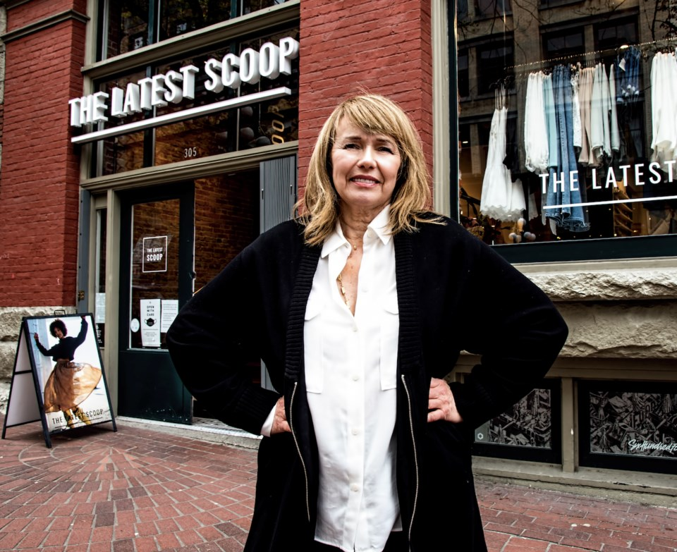 Deb Nichol, owner of The Last Scoop fashion and home decor chain. | Chung Chow