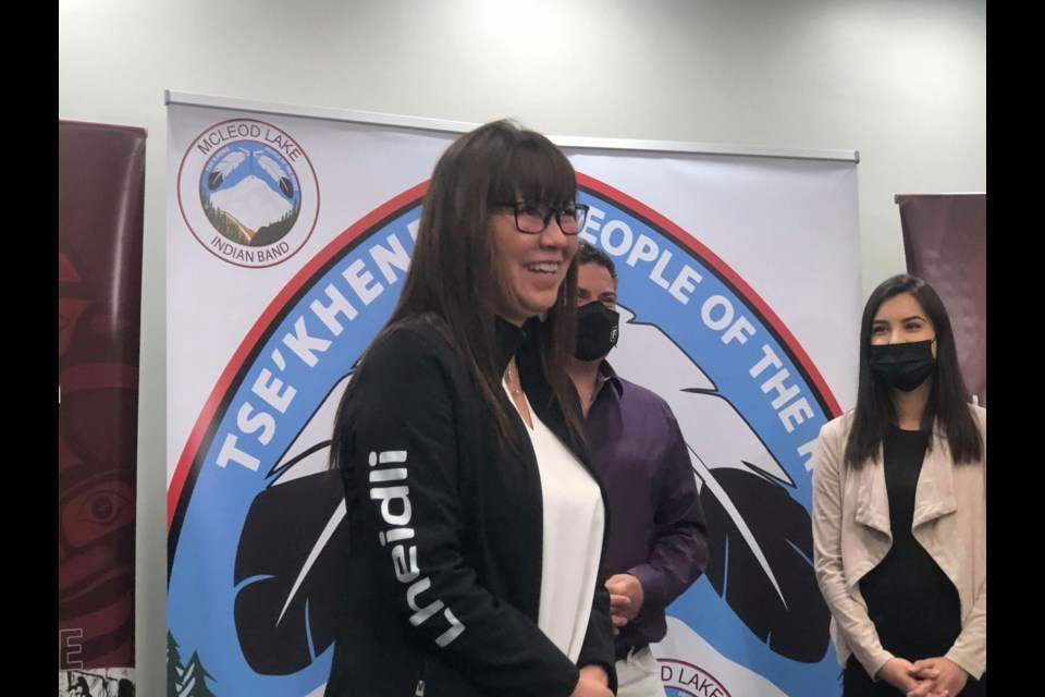 Chief Dolleen Logan of Lheidli T'enneh First Nation: investment could top $1 billion. | PG Citizen