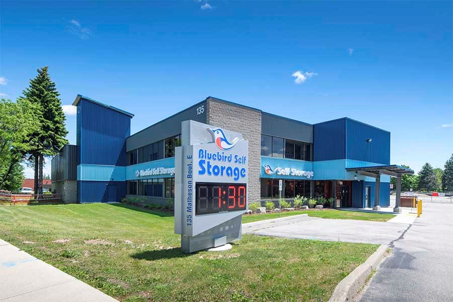 Bluebird facilities will become more common in the West. | Bluebird Self Storage