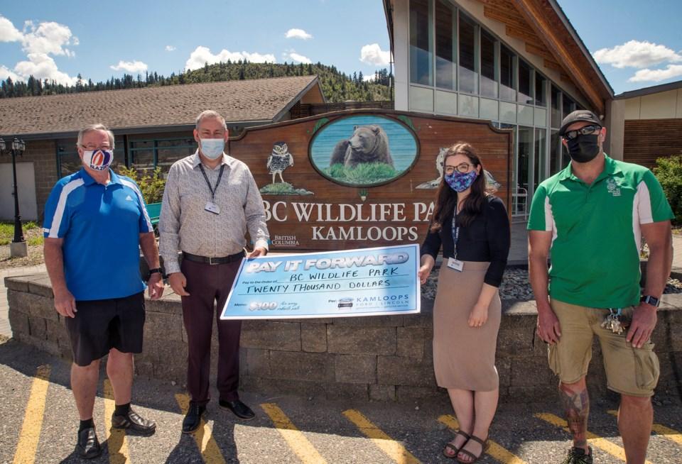 Eye on Community: Paying it forward to BC Wildlife Park_0