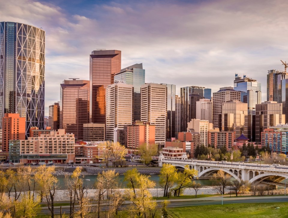Calgary office sales are up but prices lower this year.   Getty images