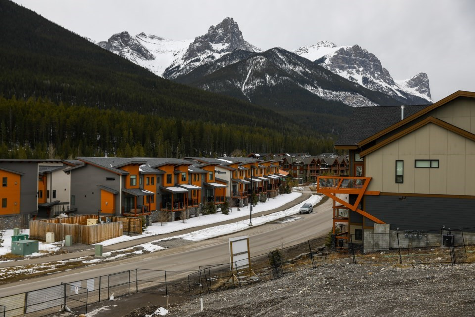 New homes under construction at current Three Sisters Mountain Village.   Evan Buhler, RMO