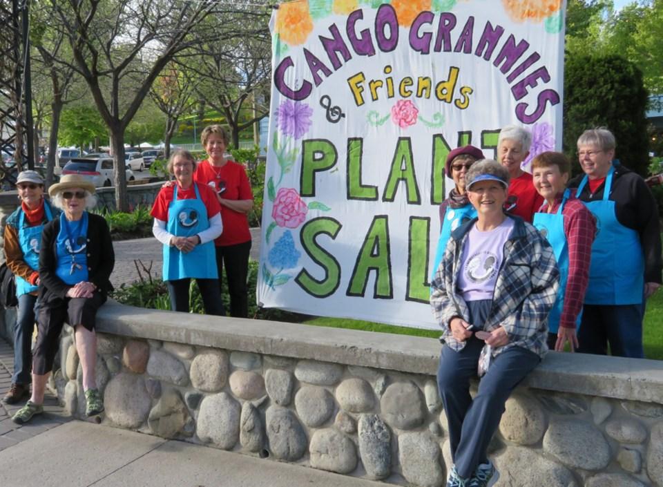 CanGo Grannies plant sale 2021