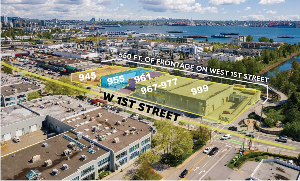 Five North Vancouver industrial buildings sold for $44 million. | CBRE