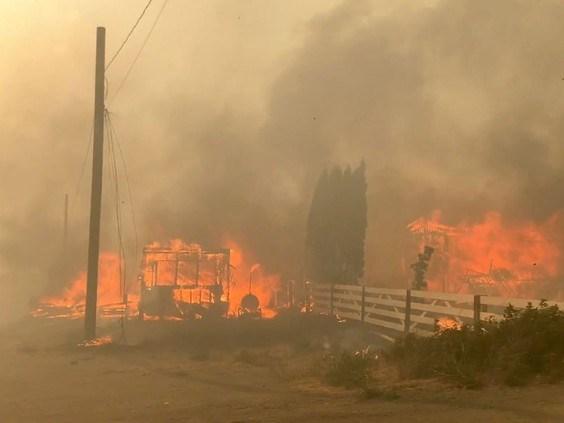 Lytton fire June 30, 2021